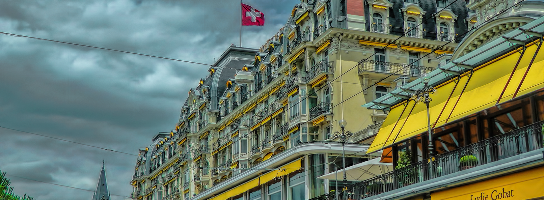 Okolo Ženevského jezera