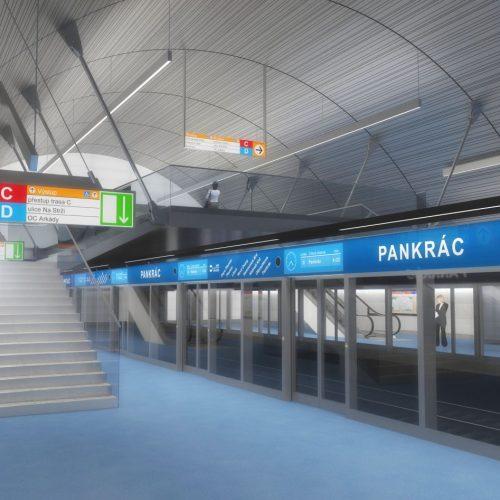 Trasa Pražského metra D bude ovládat pouze počítač